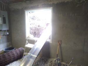 New Egress Window Opening